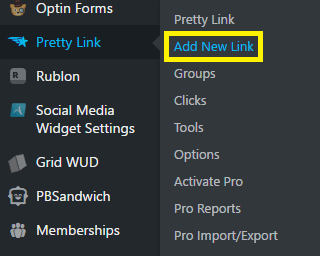 prettylinks-add-new-links