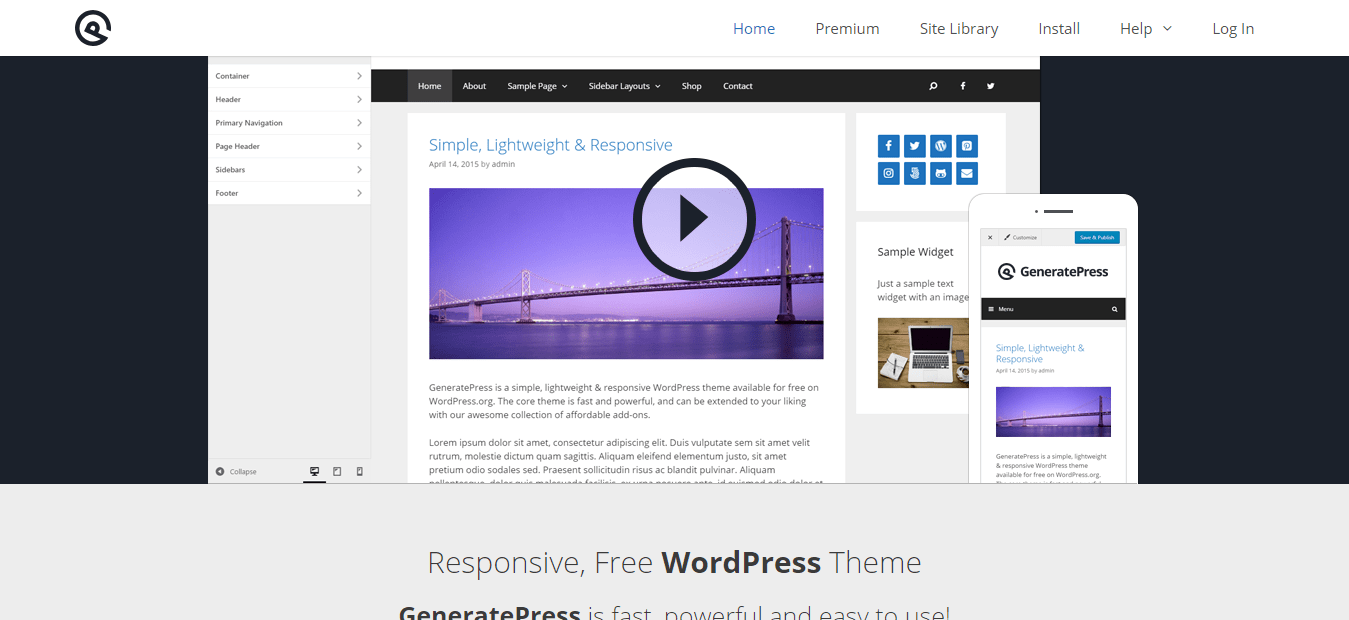 GeneratePress-Lightweight-Responsive-WordPress-Theme