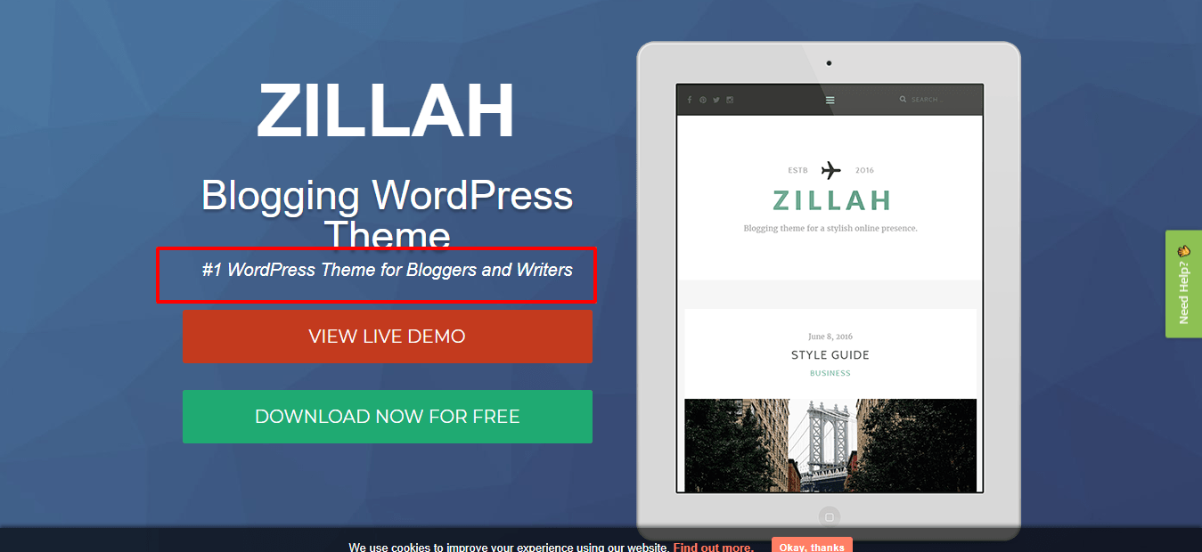 Zillah-free-theme-for-wordpress