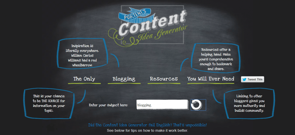 Content-Idea-Generator-from-Portent