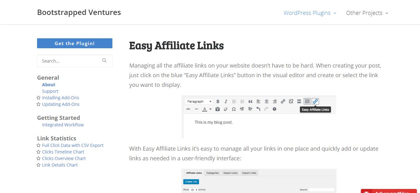 Easy-Affiliate-Links-Bootstrapped-Ventures