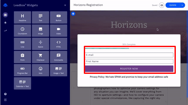 step-4-leadpages-click-on-lead-generation-form